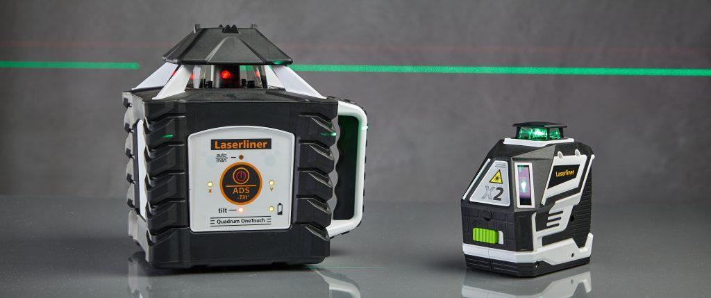 Laserliner Rotationslaser und Kreuzlinienlaser